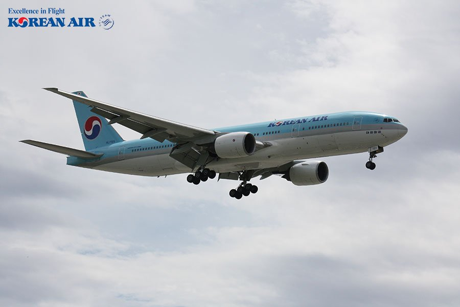 Korean Air cập nhật lịch bay tháng 08/2020 (Ngày 17/07/2020)