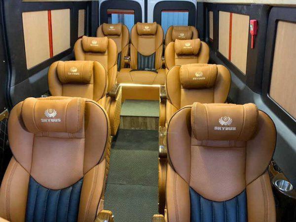 Thuê xe Limousine Dcar 12 chỗ ngồi (2018 - 2019)