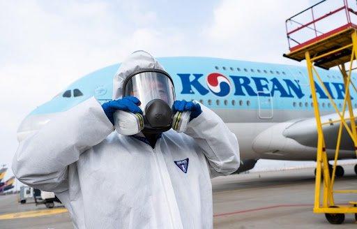 Cập nhật việc đảm bảo vệ sinh chống Covid-19 từ Korean Air/Delta và cảng hàng không Incheon