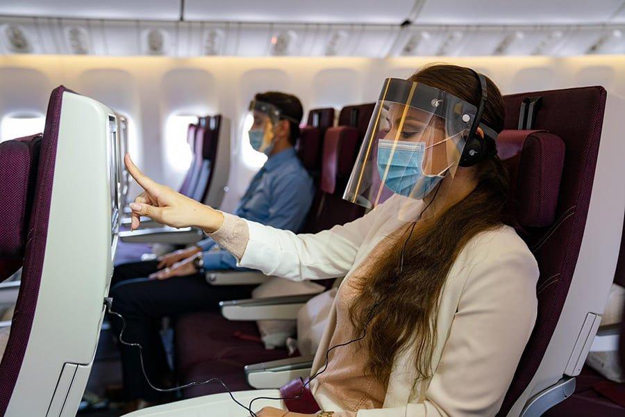 QR thông báo yêu cầu cung cấp giấy chứng nhận âm tính COVID-19 RT-PCR đối với hành khách một số khu vực