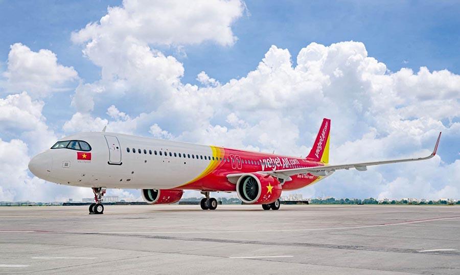 Vietjet Air tăng tần suất vé Tết TP. HCM - Thanh Hóa