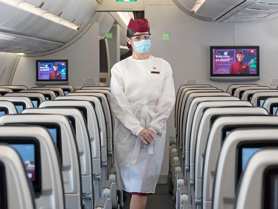 QR cập nhật các tiện ích khi bay từ sân bay Hà Nội và chính sách hỗ trợ vé