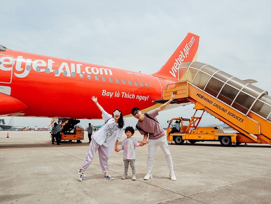 Vietjet Air MỪNG SINH NHẬT - QUÀ TẶNG CỰC CHẤT trên toàn mạng bay Vietjet