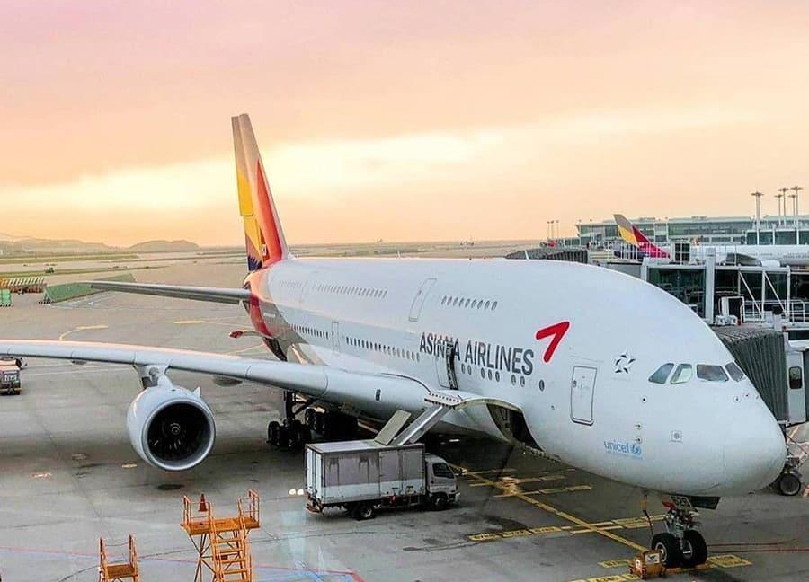 Asiana Airlines cập nhật các chuyến bay outbound SGN - ICN