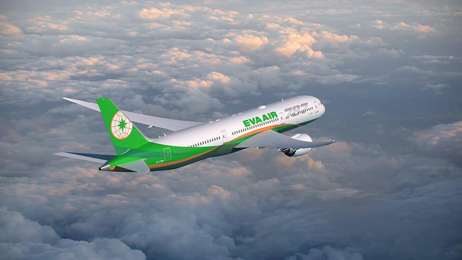 Eva Air cập nhật lịch bay tháng 01 và 02/2021 từ SGN/HAN - TPE