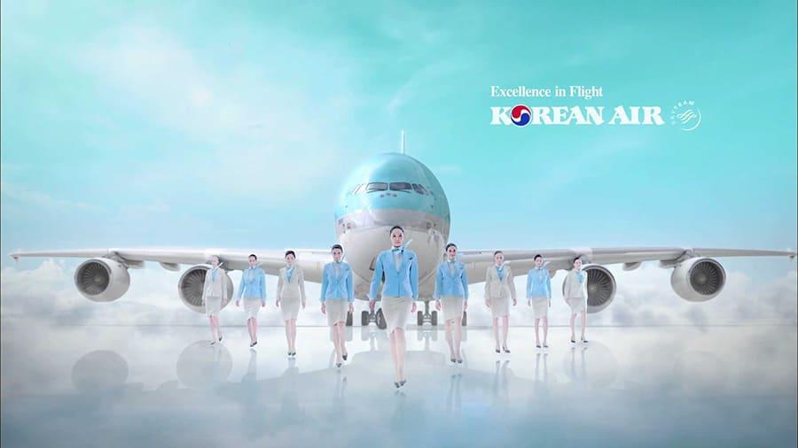 Korean Air thông báo điền tờ khai Y Tế dành cho hành khách