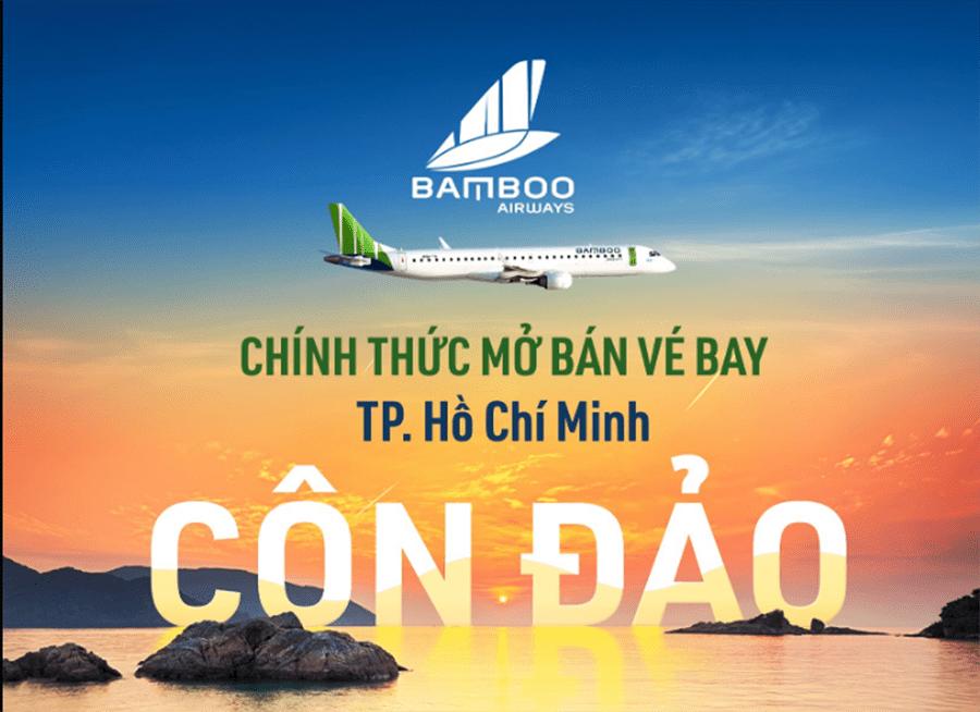 Bamboo Airways mở bán đường bay TP. HCM - Côn Đảo từ 01/02/2021
