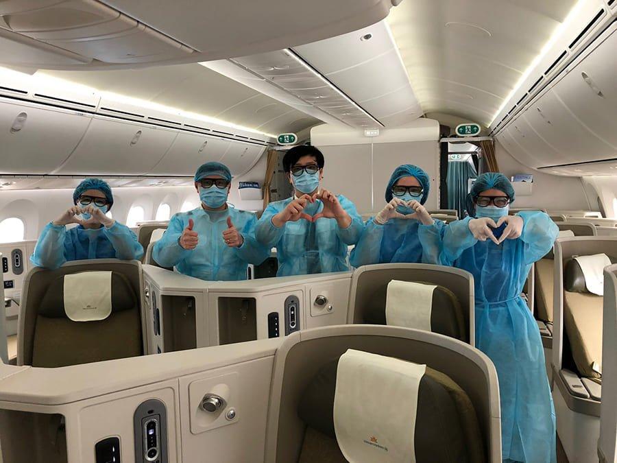 Asiana Airlines quy định xuất trình TEST COVID PCR khi nhập cảnh Hàn Quốc