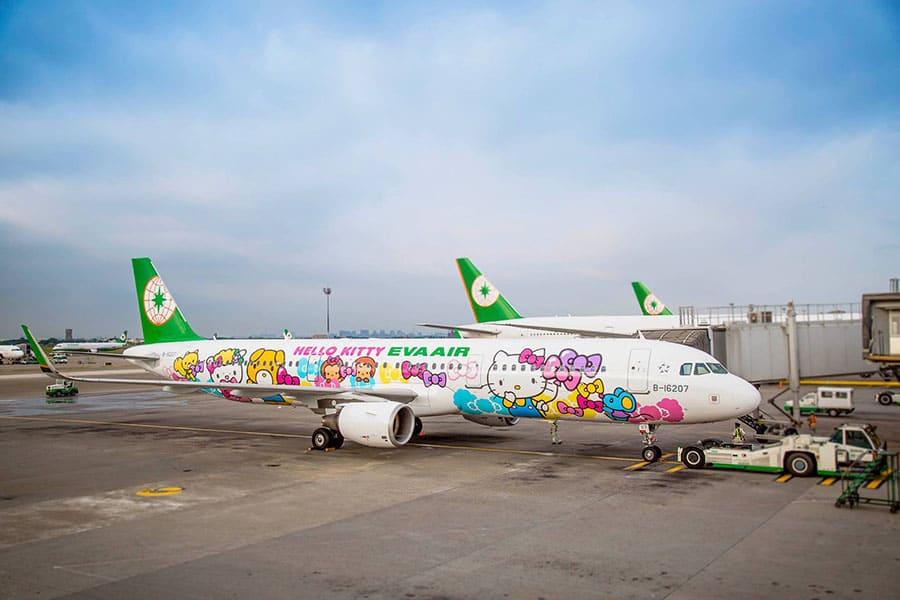 Eva Air cập nhật thông tin được phép quá cảnh tại Đài Loan