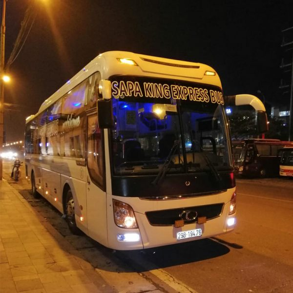 Sapa King Express Bus - Xe Cabin đôi cao cấp King Of Love