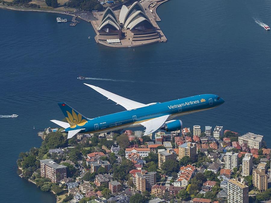 Vietnam Airlines mở bán chuyến bay từ TP. HCM đến Sydney