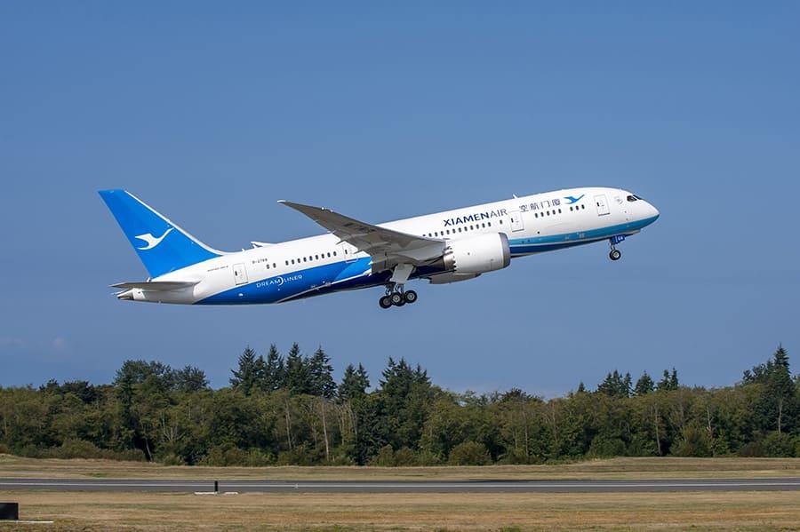 Xiamen Airlines ngừng vận chuyển hành khách đến Trung Quốc
