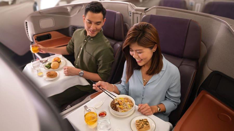 Singapore Airlines thông tin dừng chuyên chở khách SIN đến HKG transit