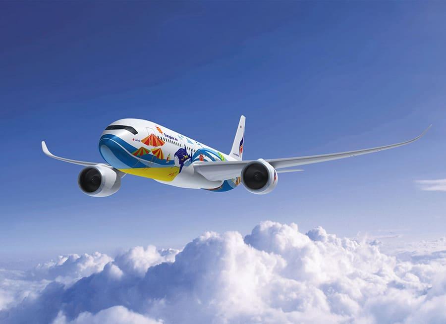 Bangkok Airways cập nhật lịch bay tuyến BKK - THS/LPT