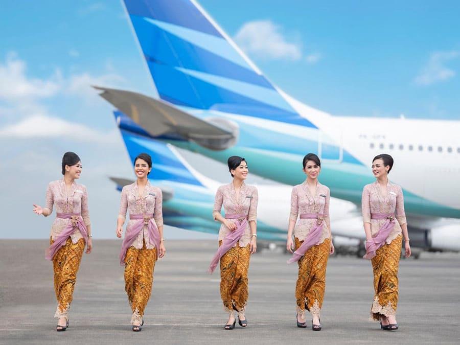 Garuda Indonesia cập nhật lịch bay quốc tế tháng 06/2021