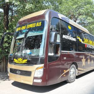 Xe Cabin đôi Sapa King Express đi Hà Nội - Sapa (tháng 07/2021)