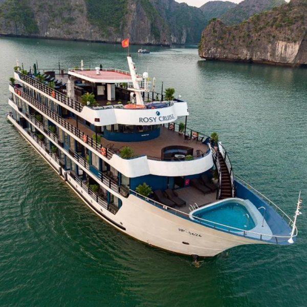 Du thuyền Rosy (*****) - Hành trình đến Vịnh Lan Hạ 2N1Đ