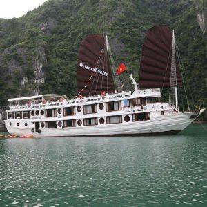 Du thuyền Oriental Sails (Deluxe) (***) - Tour Khám Phá Vịnh Bái Tử Long 2N1Đ