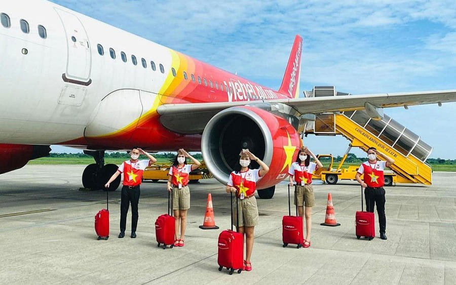 Vietjet Air thông báo lịch khai thác các đường bay Nội địa (Nguồn: Internet)